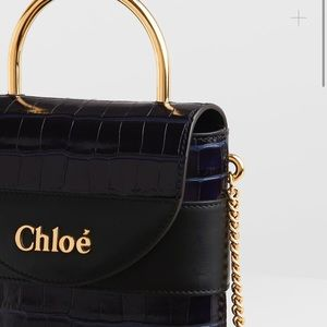 Chloe Small Aby Padlock Purse